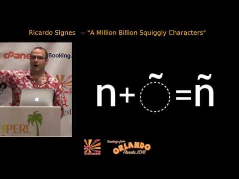 2016 - ‎A Million Billion Squiggly Characters‎ -  Ricardo Signes