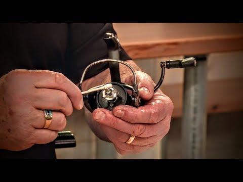 Spinning Reel Maintenance (Tutorial)