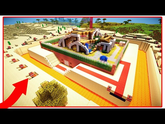 THE WORLD'S SAFEST MINECRAFT HOUSE! - YouTube