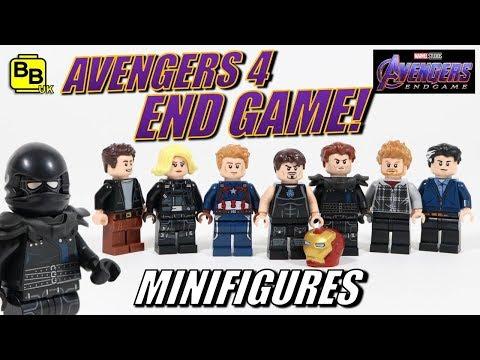 LEGO AVENGERS 4 END GAME MINIFIGURE CREATIONS! TRAILER 1