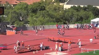 2015 Texas Relays Boys DII 4x100 Heat 4 42 42