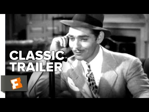 Saratoga (1937) Official Trailer - Clark Gable, Jean Harlow Movie HD