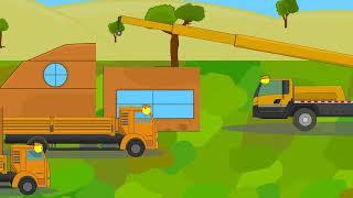 Строительство дома. Мультики про танки