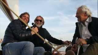 TAG Heuer VelaFestival - Mino Taveri, giornalista Mediaset, con Mauro Pelaschier e Mauro Piani