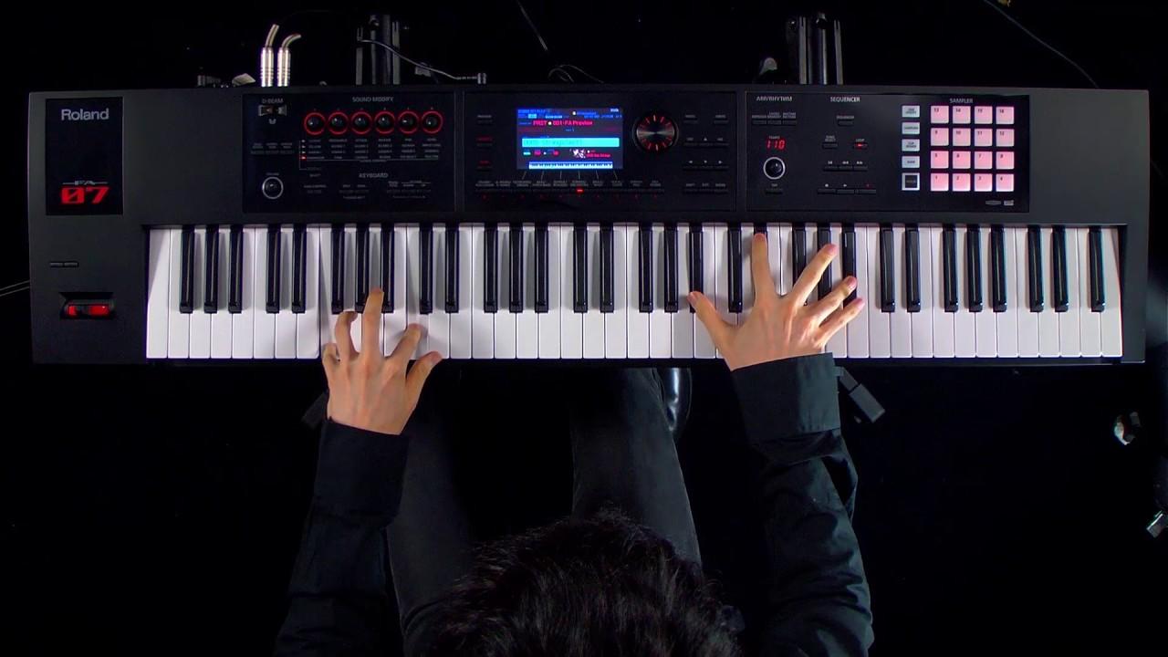FA-07 76-Note Music Workstation Keyboard