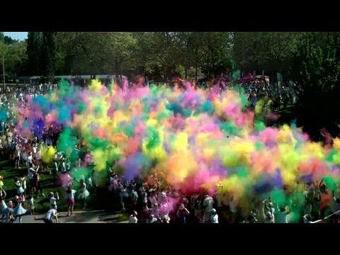 Color Run Seattle 2012