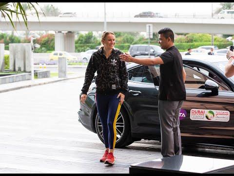 Wozniacki gives an insider's tour of Dubai