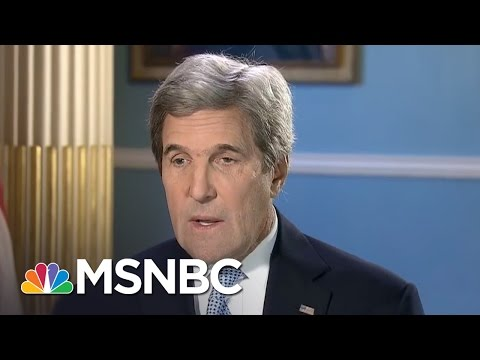 John Kerry: Russia's Actions 'Totally Unacceptable And Dangerous' (Full) | Andrea Mitchell | MSNBC