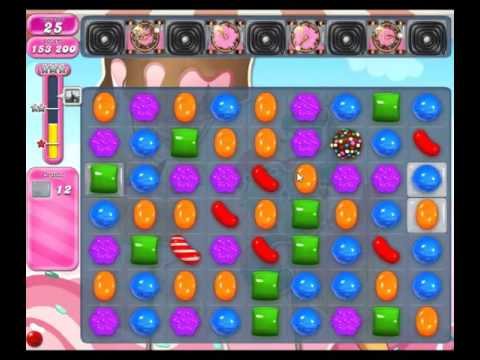 Candy Crush Saga Level 1612 - NO BOOSTERS