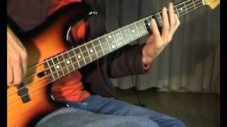 The Beatles - Rock and Roll Music - Bass Cover