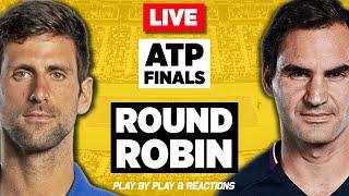 🔴 FEDERER vs DJOKOVIC | ATP Finals London 2019 | LIVE Tennis Play-by-Play