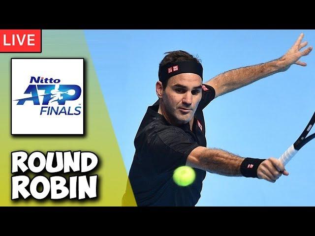 🔴 FEDERER vs DJOKOVIC   ATP London Finals 2019   LIVE Tennis Stream Play-by-Play