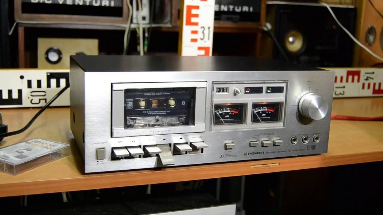 PIONEER CT-F500 tape-deck Top Vintage #Pioneer #audio #cassette #deck JAPAN  1978-1979
