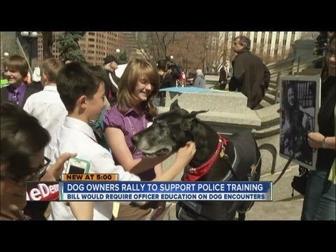 Dog owners lobby for police training to avoid shootings