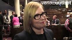 Stubbin hallituksen sosiaali- ja terveysministeri Laura Räty Verkkouutisten haastattelussa