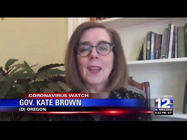 Governor Brown discusses new COVID-19 mandates