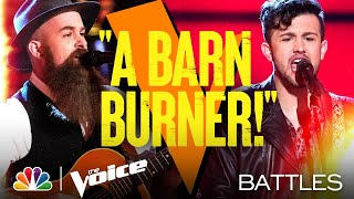 "Connor Christian vs. Aaron Konzelman - ""Ain't Livin' Long Like This"" - The Voice Battles 2021"