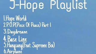 BTS JHOPE PLAYLIST #JhopeBTS