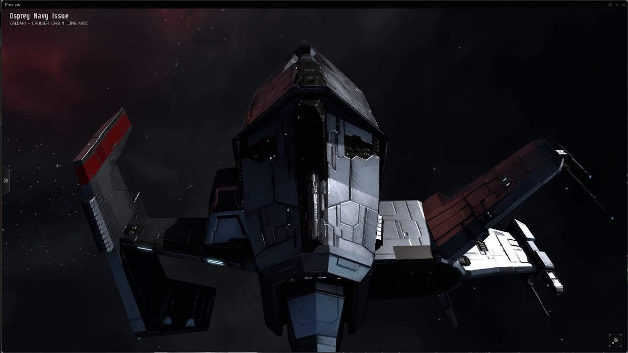 Osprey Navy Issue Steel Cardinal Skin With Price Eve Online Youtube