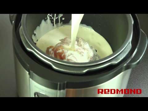 Курица в сливках в мультиварке REDMOND RMC-M4504