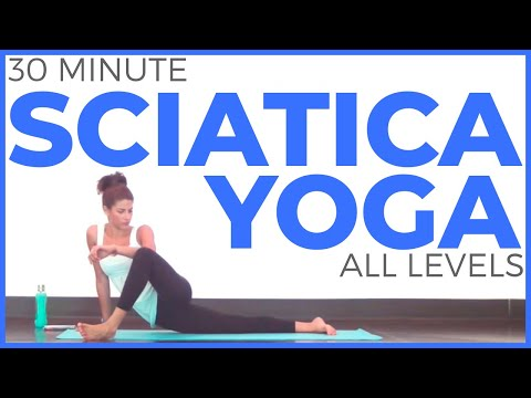 30 Minute Yoga for SCIATICA and LOW BACK PAIN (All Levels)