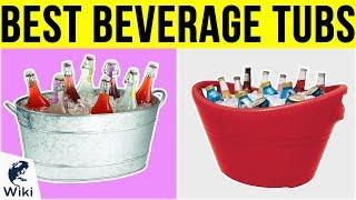 10 Best Beverage Tubs 2019