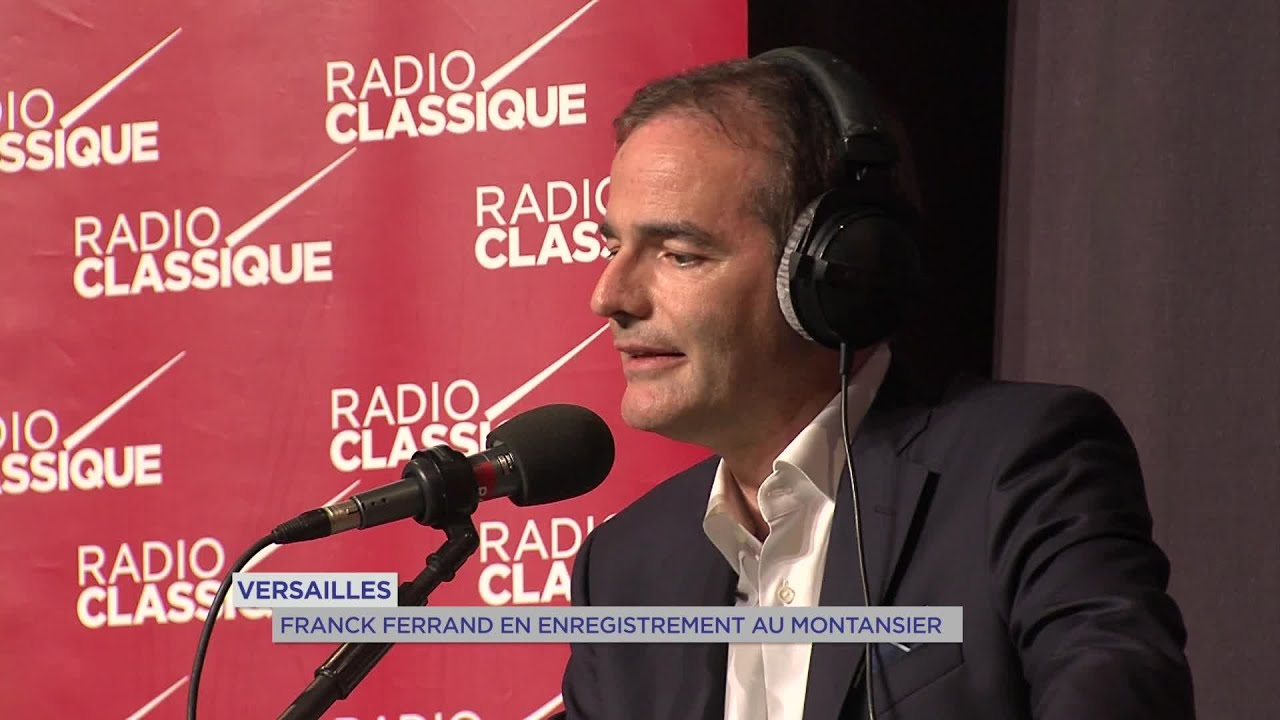 Yvelines | Versailles : Franck Ferrand en enregistrement au Montansier