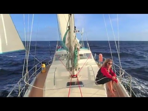 Wonderful overnight passage from Grenada to Trinidad