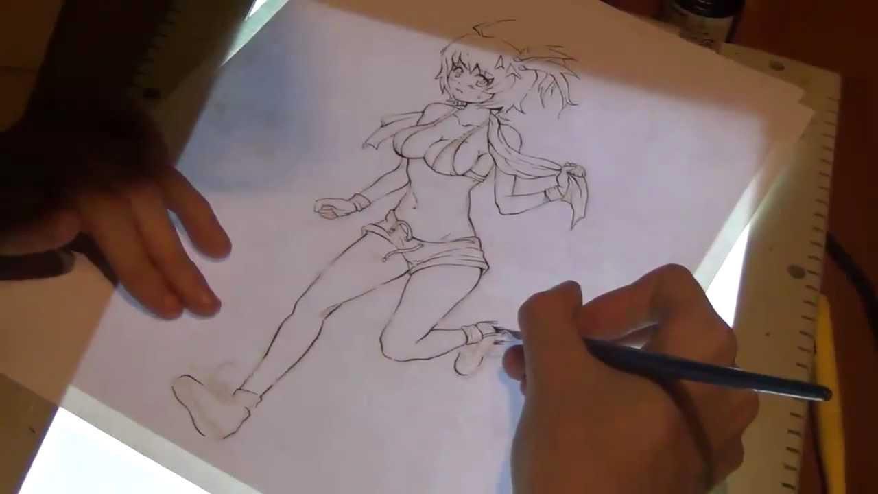 Manga Inchiostrazione Pennino Tutorial 1° Di Youtube A Disegno vWgtnSnPq