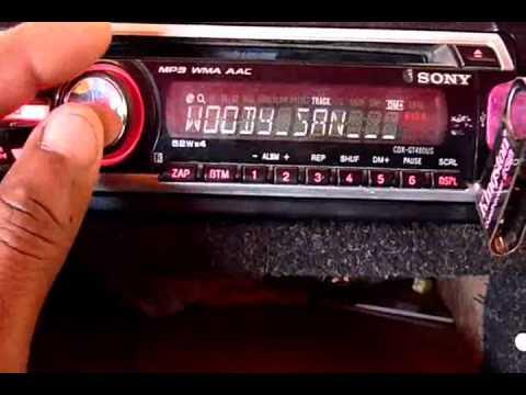 Sony Xplod CDX-480UE Usb Mp3 Wma Aac Walkman. sony xplop subwoofer lady