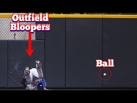 MLB Hilarious Outfield Bloopers and Errors