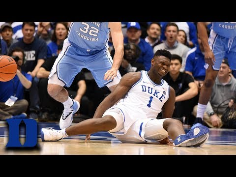 The Rick Lewis Show - Zion Williamson's Shoe Blows Out During Game