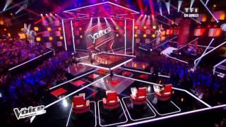 The Voice - Dièse interprète Comme ils disent (Charles Aznavour) en Direct