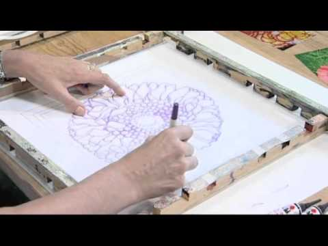 Silk Painting With Textile Artist Jill Kennedy - Fabric Painting - Colouricious