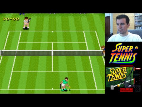 Super Tennis (SNES) - Tenis de calidad en Super Nintendo || Gameplay en Español