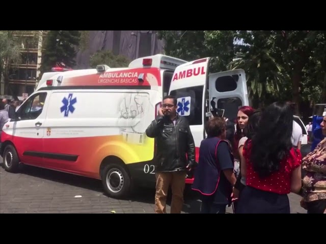 Powerful 7.1 Earthquake Strikes Mexico | Los Angeles Times