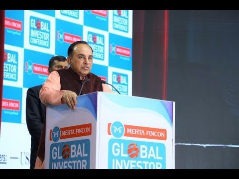 Dr  Subramanian Swamy - MP, Rajya Sabha @Mehta Fincon Global Investor Conference 2019