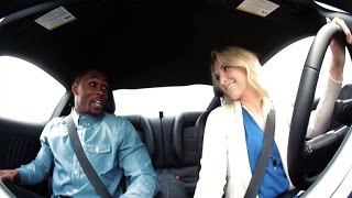Beautiful stunt driver pranks her dates