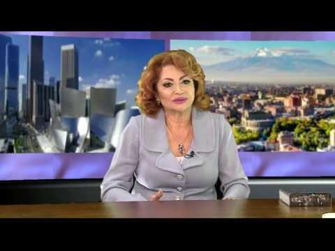 Maggie  Khlghatyan With Alina Khachatryan USArmenia TV MAY-2017
