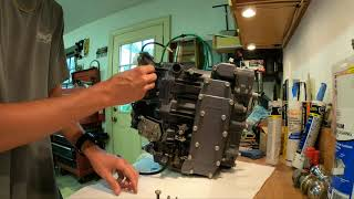 Replacing the Crank on a Yamaha 50TLR Outboard