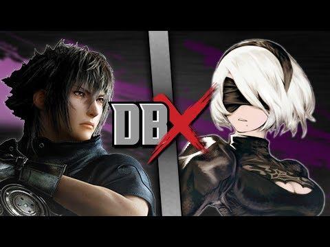 Noctis VS 2B (Final Fantasy vs NieR) | DBX