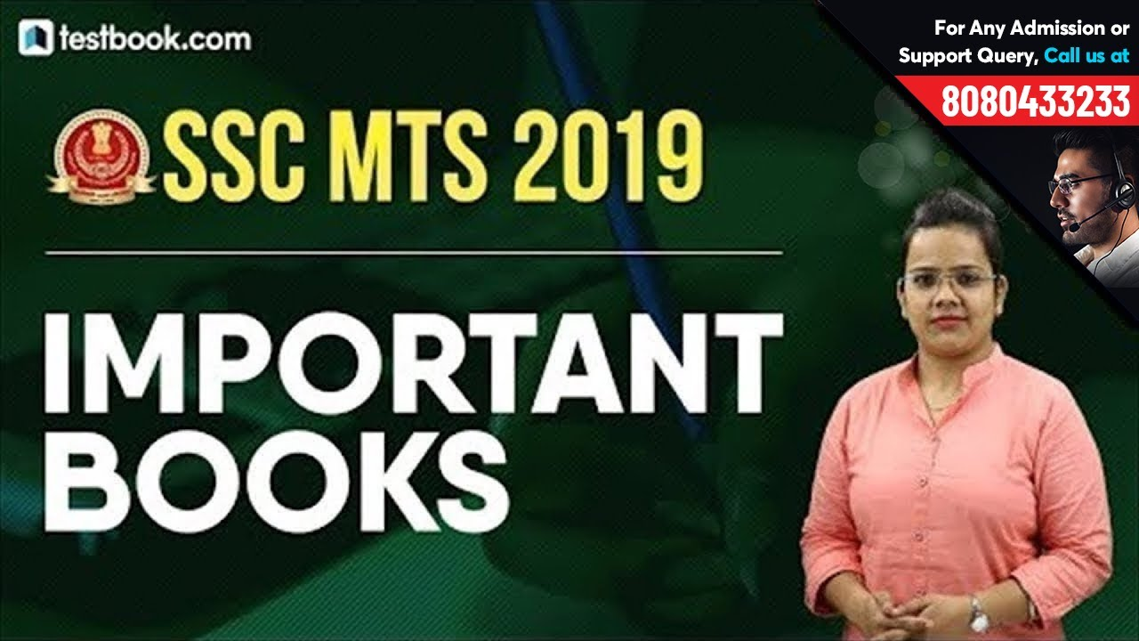 Best Books for SSC MTS 2019 Exam | Based on SSC MTS Syllabus | SSC MTS Apply Online | Shefali Ma
