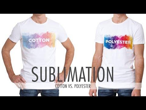 Sublimation: Cotton vs. Polyester