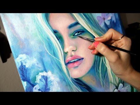 "Oil Painting Time Lapse | ""Dwindle"""