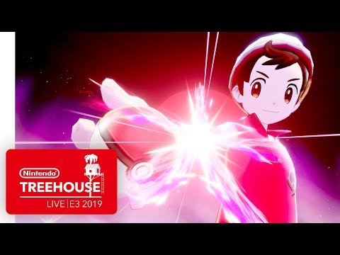 Pokémon Sword and Pokémon Shield Gameplay - Nintendo Treehouse: Live | E3 2019