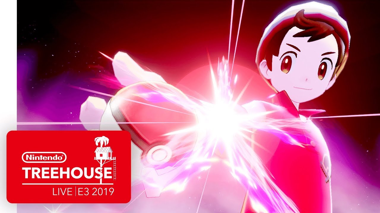 Pokémon Sword and Pokémon Shield Gameplay - Nintendo Treehouse: Live | E3  2019