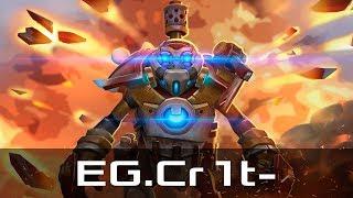 EG.Cr1t- — Clockwerk, Offlane (Nov 3, 2019) | Dota 2 patch 7.22 gameplay