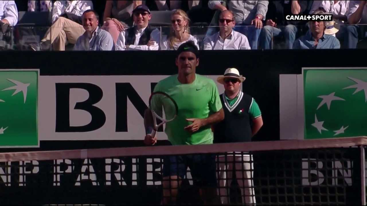 Highlights ATP Rome 2013 Final - Nadal vs Federer - YouTube