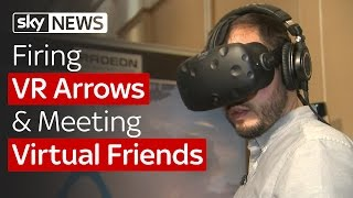 SWIPE | Firing VR Arrows & Meeting Virtual Friends