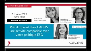 Prêt-Emprunt chez CACEIS - une activité compatible avec votre politique ESG